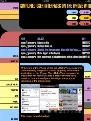 LCARS Internet Media Reader