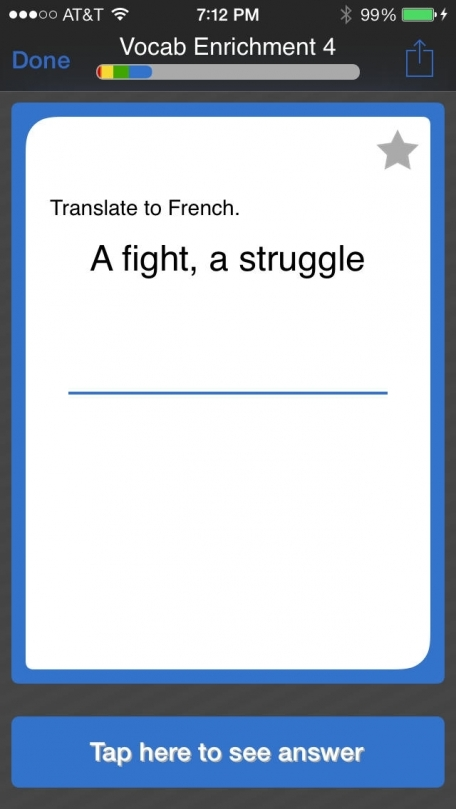 Learn French - Vocabulary