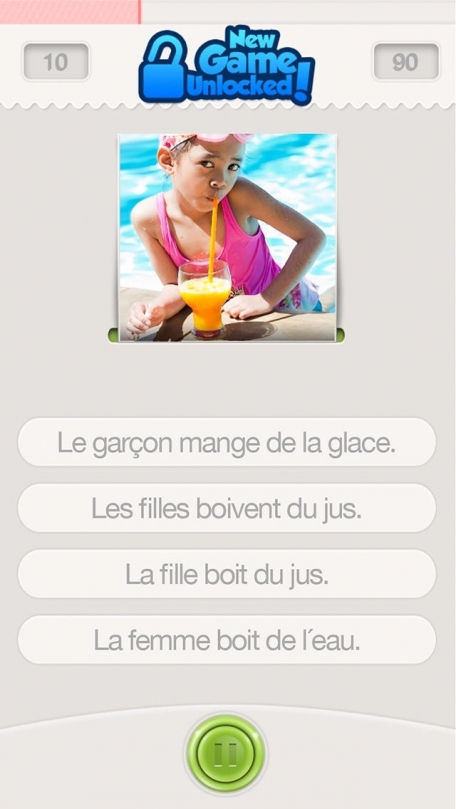 Learn French with Lingo Arcade
