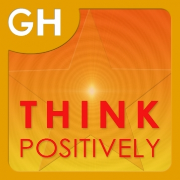 Learn How To Think Positively by Glenn Harrold