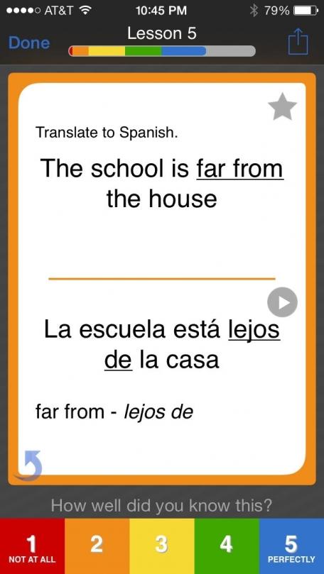 Learn Spanish - Brainscape