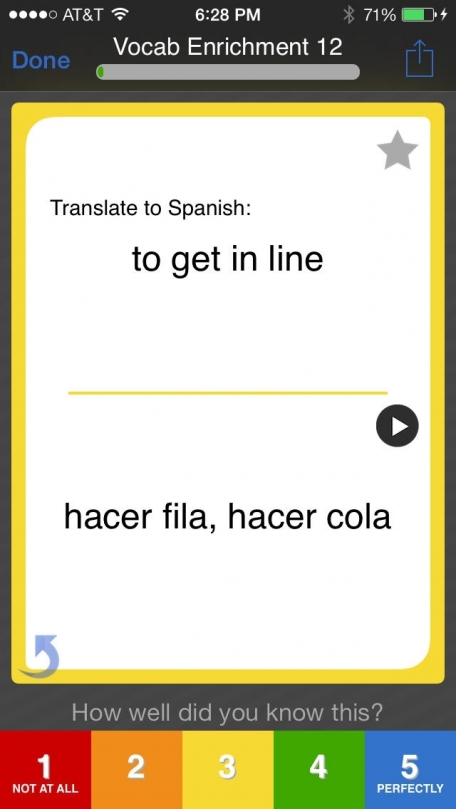 Learn Spanish Vocabulary *