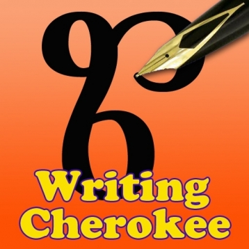 Learn to write Cherokee for iPhone version