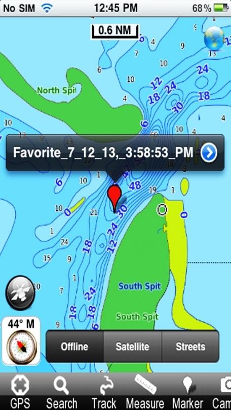 Marine: Alaska North West - GPS Map Navigator