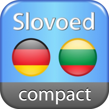 Lithuanian <-> German Slovoed Compact talking dictionary
