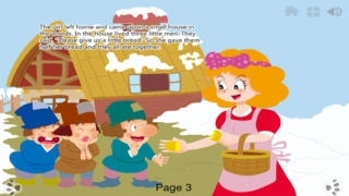 Little Men in the Wood - bedtime fairy tale Interactive iBigToy-child