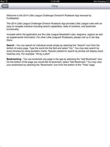 LL 2014 Challenger Rulebook