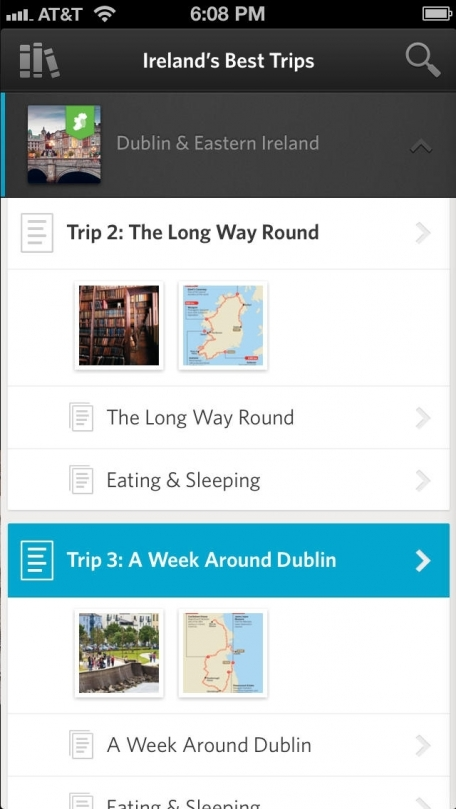 Lonely Planet Ireland's Best Trips - Official Travel Guide, Inkling Interactive Edition