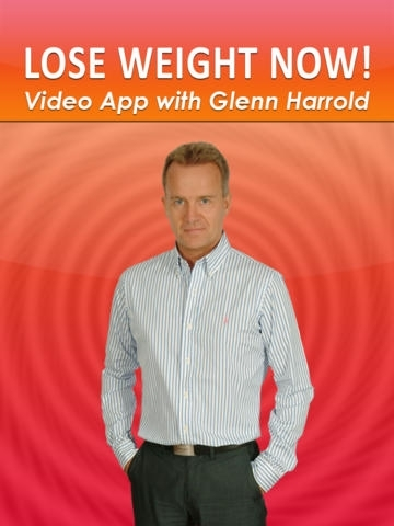 Lose Weight Now Hypnosis HD Video App by Glenn Harrold