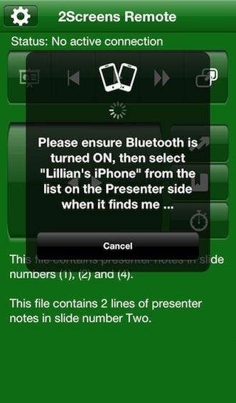 2Screens Remote