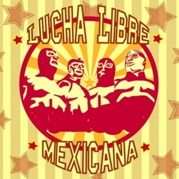 Lucha Libre Booth