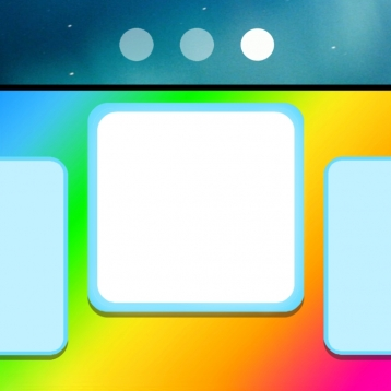 Luma - Colored Dock And Status Bar Backgrounds For Your Wallpaper