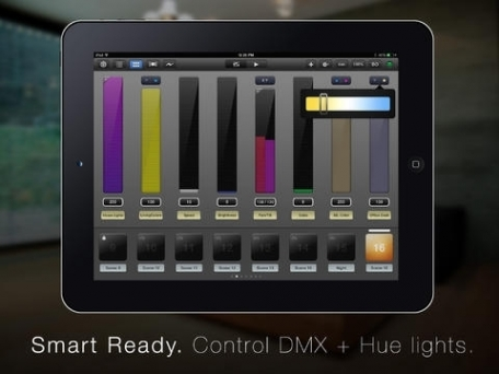 Luminair for iOS - Smart DMX lighting control