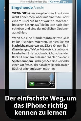 Tipps & Tricks - Geheimnisse für iPhone (Kostenlose LITE Ausgabe)