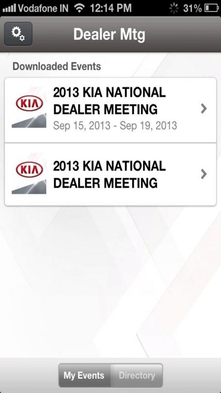 2013 Kia Dealer Meeting