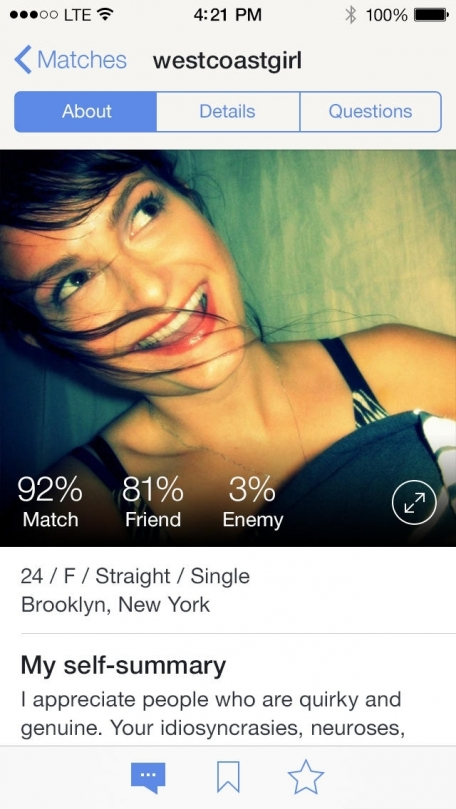 How to logout of okcupid app