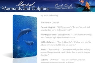 Magical Mermaids and Dolphins Oracle Cards - Doreen Virtue, Ph.D.
