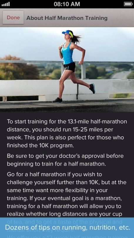 Marathon & Half Marathon Trainer: GPS, Training Plan & Running Tips by Red Rock Apps