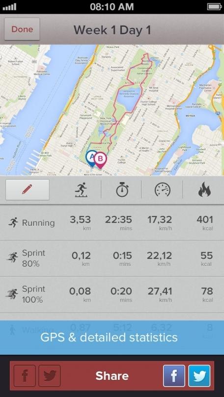 Marathon & Half Marathon Trainer PRO: GPS, Training Plan & Running Tips by Red Rock Apps