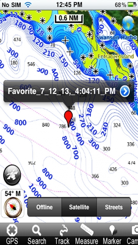 Marine: Alaska South East - GPS Map Navigator
