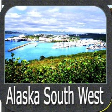 Marine: Alaska South West - GPS Map Navigator