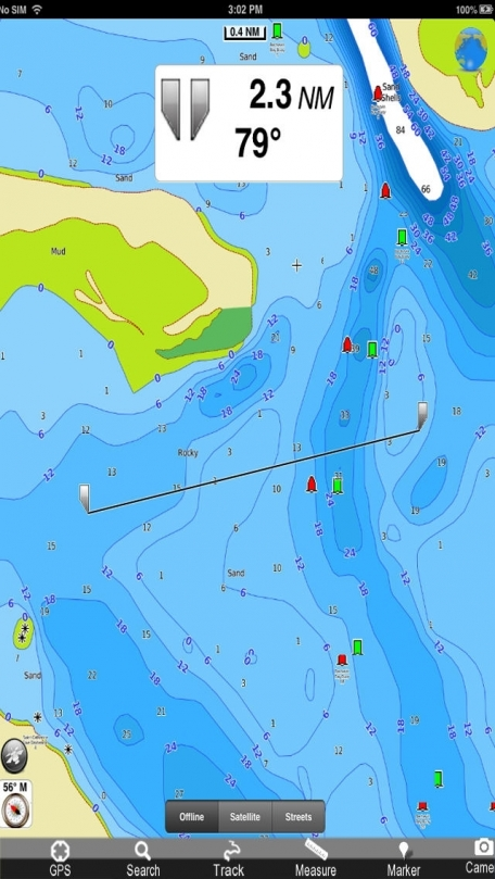 Marine: Aleutian Islands - GPS Map Navigator