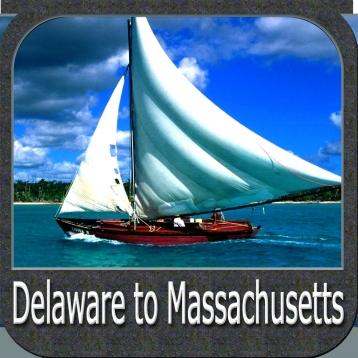 Marine: Delaware to Massachusetts - GPS Map Navigator