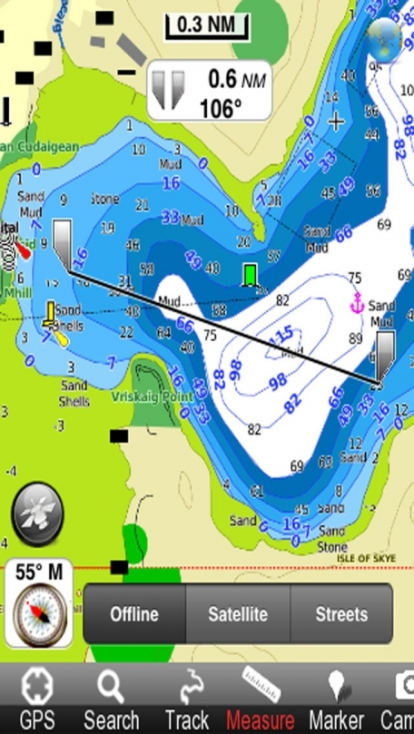 Marine: Hebrides - GPS Map Navigator