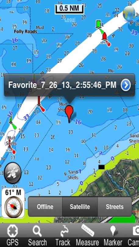 Marine: Ireland - GPS Map Navigator