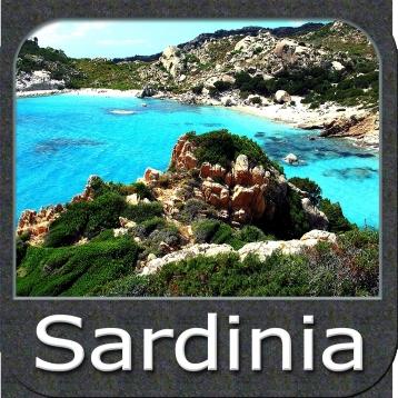 Marine: Sardinia (Sardegna) - GPS Map Navigator