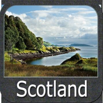 Marine: Scotland - GPS Map Navigator