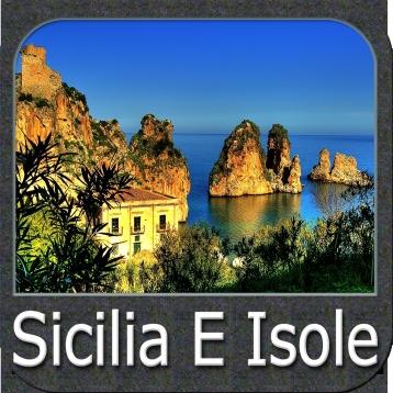 Marine: Sicilia e Isole del Sud Italia - GPS Map Navigator