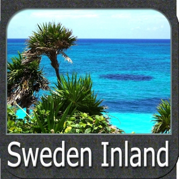 Marine: Sweden Inland Seas - GPS Map Navigator