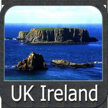 Marine: UK Ireland - GPS Map Navigator
