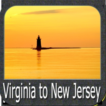 Marine: Virginia to New Jersey - GPS Map Navigator