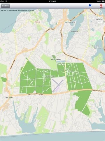 Martha's Vineyard, Cape Cod, Nantucket Street Map.