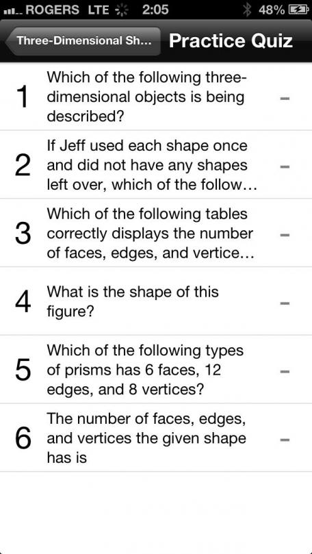 Math 3 Study Guide by Top Student
