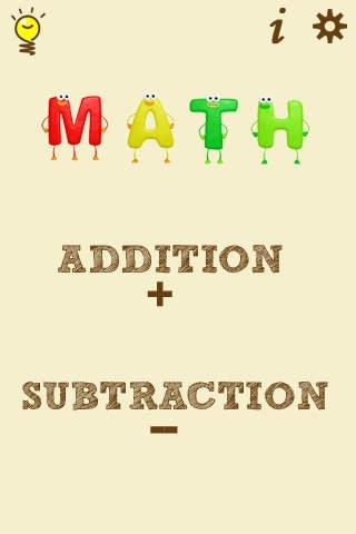 Math Free - Single and Double digit Addition and Subtraction