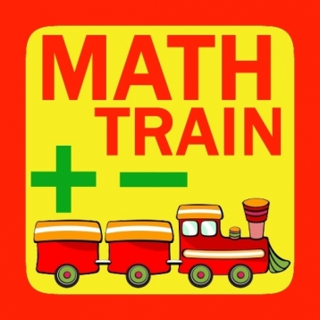 Math Train - Addition Subtraction for kids