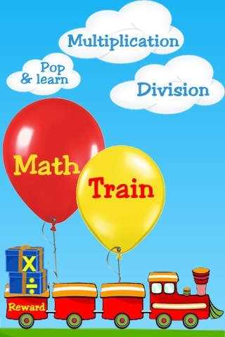 Math Train - Multiplication Division for Kids