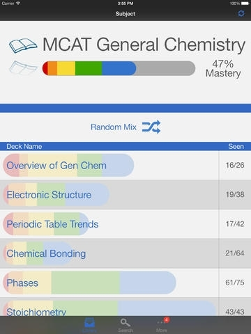 MCAT General Chemistry Preparation, powered by Brainscape