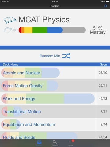 MCAT Physics Preparation, powered by Brainscape