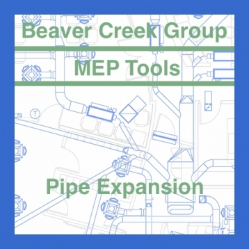 MEP Tools - Pipe Expansion