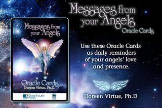 Messages from your Angels Oracle Cards - Doreen Virtue, Ph.D.