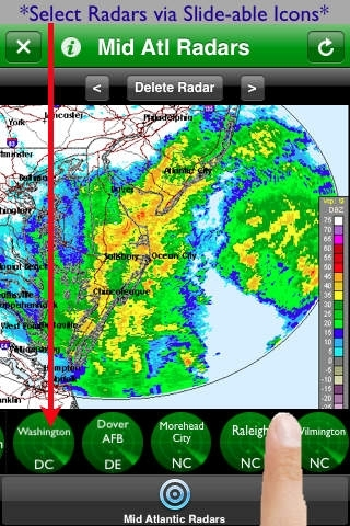 Mid Atlantic Radars