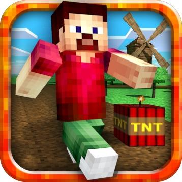 Mine Rush Mini Game Pocket Parkour Edition Skins Editor For - Minecraft spiele mit tnt