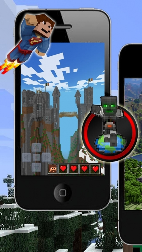 Minecraft 3D Cube World and Mine Mini Game with Minecraft Skin Exporter (PC Edition) and Minecraft Seeds Pro - Multiplayer Edition - Survivalcraft and Pixel Gun 3D Battle