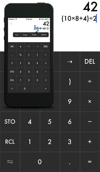 Minimalist Calculator