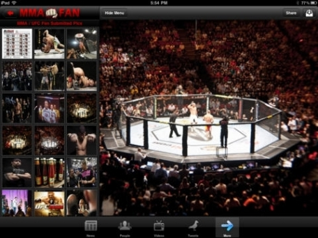 MMA Fan Pro: Fighters & News with No Ads