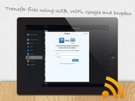 DOCUMENTS 2 FREE File Manager for Dropbox, Skydrive, iCloud and Google Docs